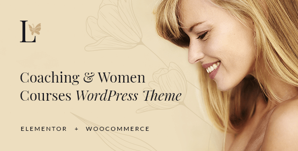 [Free Download] Lissa – Coaching & Women Courses WordPress Theme (Nulled) [Latest Version]