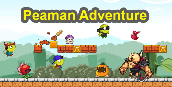 [Free Download] PEAMAN ADVENTURE – COMPLETE UNITY GAME (Nulled) [Latest Version]