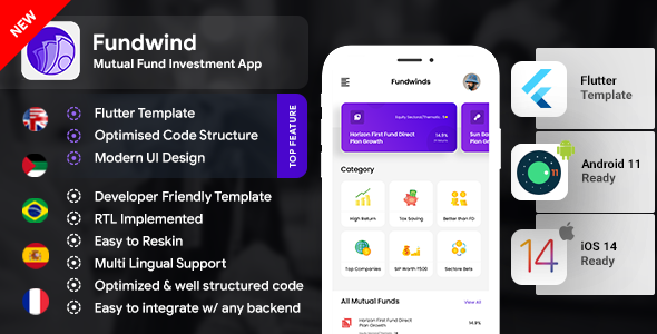 [Free Download] Mutual Fund Investment Template   trading Android + iOS Template   FLUTTER   Fundwind (Nulled) [Latest Version]