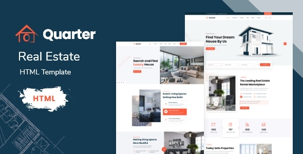 [Free Download] Quarter – Real Estate HTML Template (Nulled) [Latest Version]