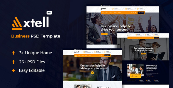[Free Download] Axtell – Business PSD Template (Nulled) [Latest Version]