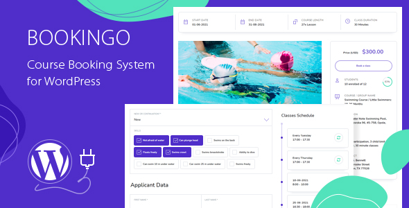 [Free Download] Bookingo – Course Booking System for WordPress (Nulled) [Latest Version]
