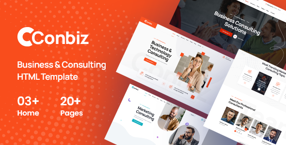 [Free Download] Conbiz – Consultancy & Business HTML Template (Nulled) [Latest Version]