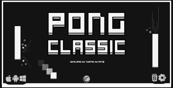 [Free Download] Pong Classic | HTML5 • Construct Game (Nulled) [Latest Version]
