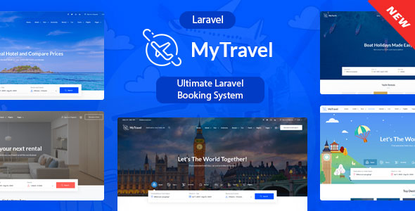 [Free Download] MyTravel  – Ultimate Laravel Booking System (Nulled) [Latest Version]