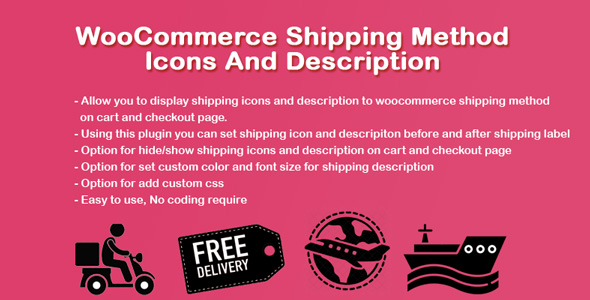 [Free Download] WooCommerce Shipping Icons And Description (Nulled) [Latest Version]