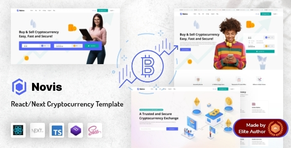 [Free Download] Novis – React Next.js Cryptocurrency Template (Nulled) [Latest Version]