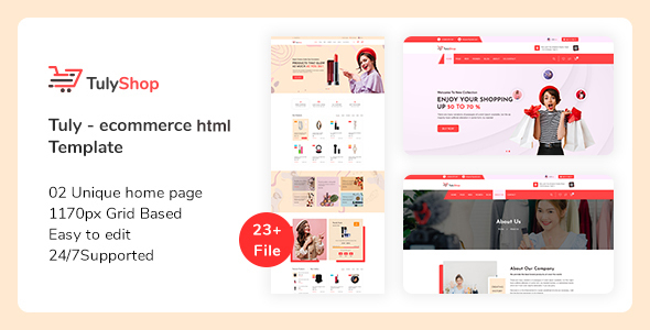 [Free Download] Tuly – eCommerce HTML Template (Nulled) [Latest Version]
