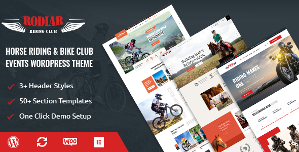 [Free Download] Rodiar – WordPress Theme for Rider's Club (Nulled) [Latest Version]