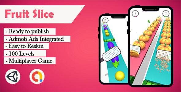 [Free Download] Fruit Slice – (Unity – Admob) (Nulled) [Latest Version]