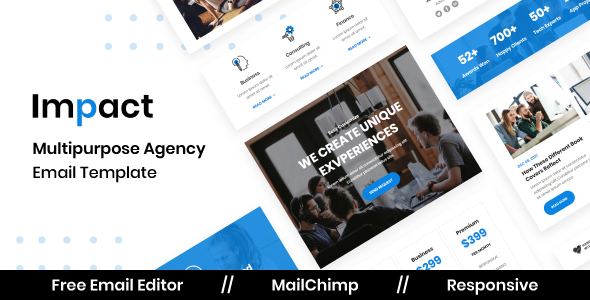 [Free Download] Impact Agency – Multipurpose Responsive Email Template (Nulled) [Latest Version]