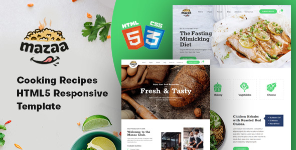 [Free Download] Mazaa – Responsive Restaurant or Eatery Template (Nulled) [Latest Version]