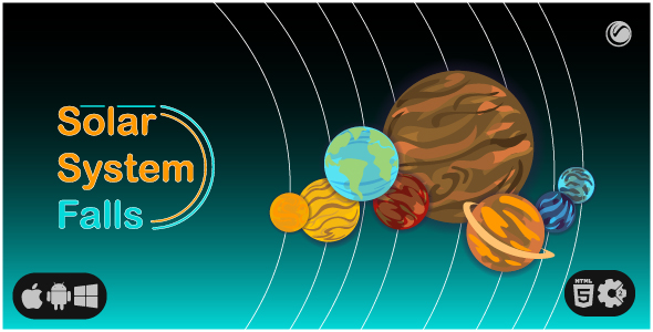 [Free Download] Solar System Falls | HTML5 • Construct Game (Nulled) [Latest Version]