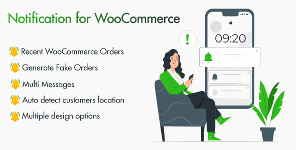 [Free Download] Notifications for WooCommerce (Nulled) [Latest Version]