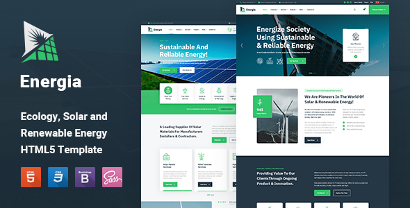 [Free Download] Energia – Renewable Energy HTML5 Template (Nulled) [Latest Version]