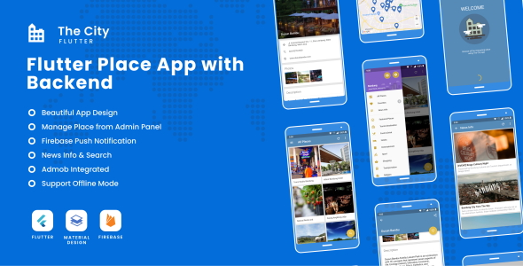 [Free Download] The City Flutter – Place App with Backend 1.0 (Nulled) [Latest Version]