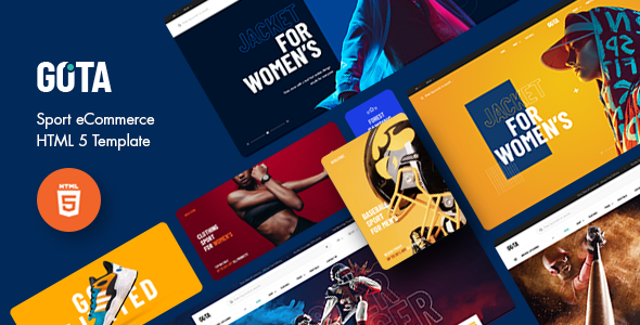 [Free Download] Gota – Sport eCommerce HTML5 Template (Nulled) [Latest Version]