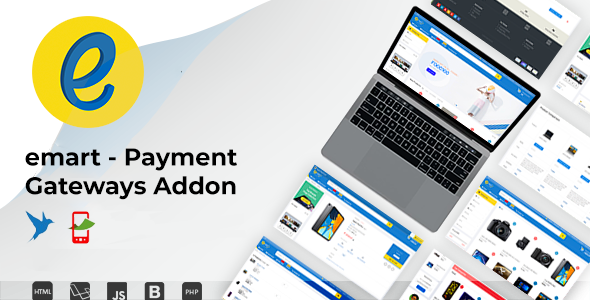 [Free Download] emart – Payment Gateways Addon (Nulled) [Latest Version]