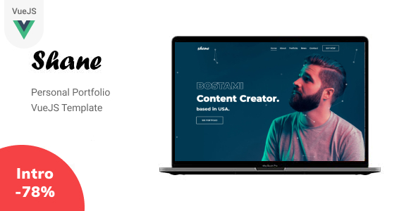 [Free Download] Shane – VueJS Personal Portfolio Template (Nulled) [Latest Version]