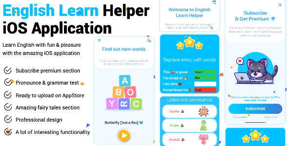 [Free Download] English Learn Helper iOS Application (Nulled) [Latest Version]
