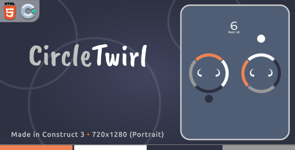[Free Download] CircleTwirl – HTML5 Casual Game (Nulled) [Latest Version]