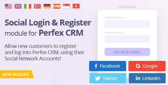 [Free Download] Social Media Login module for Perfex CRM (Nulled) [Latest Version]