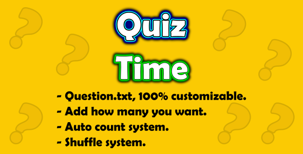 [Free Download] Quiz Time (Nulled) [Latest Version]