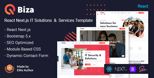 [Free Download] Biza – React Next IT Solutions & Services Template (Nulled) [Latest Version]