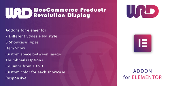[Free Download] Woocommerce Products Revolution Display for Elementor WordPress Plugin (Nulled) [Latest Version]