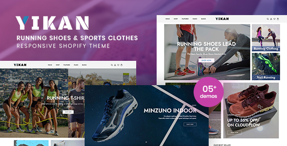 [Free Download] Yikan – Running Shoes & Sports Clothes Shopify Theme (Nulled) [Latest Version]