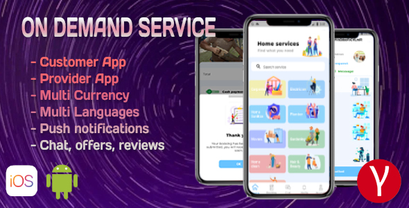 [Free Download] On Demand Service Solution – 3 Apps – Customer + Provider + Admin Panel – Flutter (iOS+Android) (Nulled) [Latest Version]
