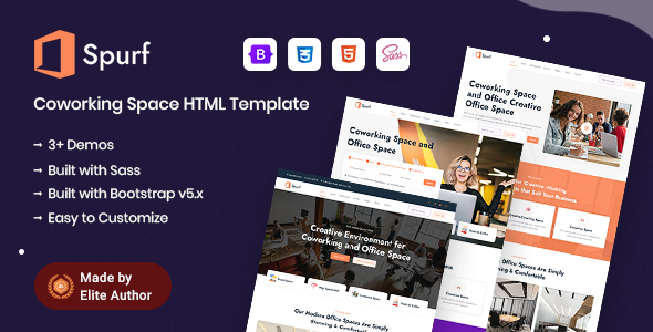 [Free Download] Spurf – Coworking Office Space HTML Template (Nulled) [Latest Version]
