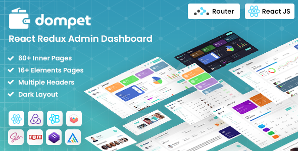 [Free Download] Dompet – React Admin Template (Nulled) [Latest Version]