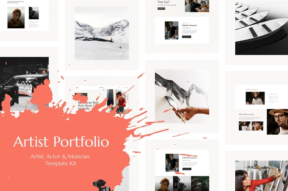 [Free Download] Artisio | Artist, Actor & Musician Elementor Template Kit (Nulled) [Latest Version]