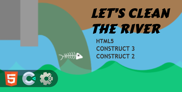 [Free Download] Clean The River HTML5 Construct 2/3 Game (Nulled) [Latest Version]