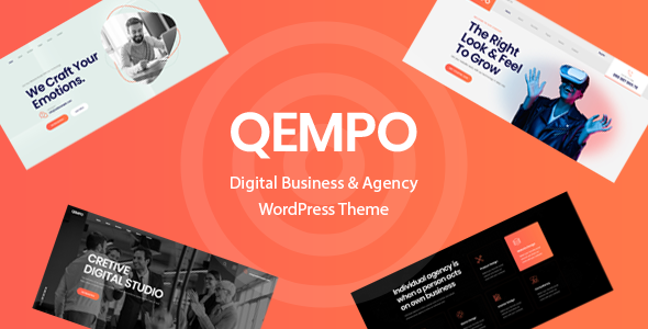 [Free Download] Qempo – Digital Agency Services WordPress Theme (Nulled) [Latest Version]