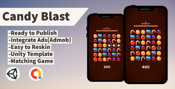 [Free Download] Candy Blast (Unity+Admob+Android+IOS) (Nulled) [Latest Version]