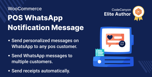 [Free Download] WooCommerce POS WhatsApp Notification Message (Nulled) [Latest Version]