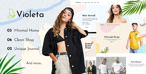 [Free Download] Violeta – Minimal Shop PSD Template (Nulled) [Latest Version]