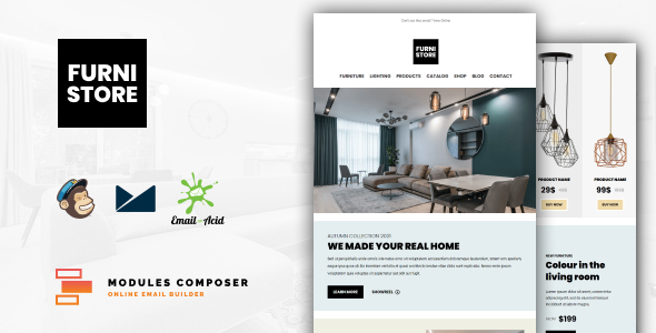 [Free Download] Furnistore – E-Commerce Responsive Furniture and Interior design Email with Online Builder (Nulled) [Latest Version]
