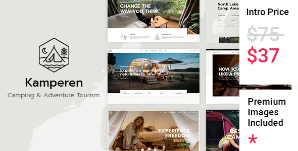 [Free Download] Kamperen – Camping and Adventure Tourism (Nulled) [Latest Version]