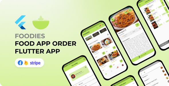 [Free Download] Foodies Food App – Flutter (Nulled) [Latest Version]