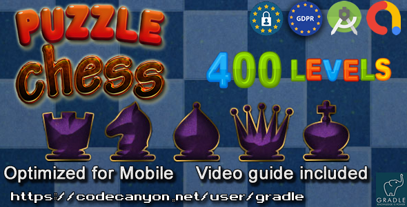 [Free Download] Chess Puzzle 400 (Admob + GDPR + Android Studio) (Nulled) [Latest Version]