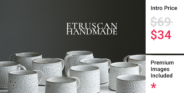 [Free Download] Etruscan – Handmade Pottery Store (Nulled) [Latest Version]