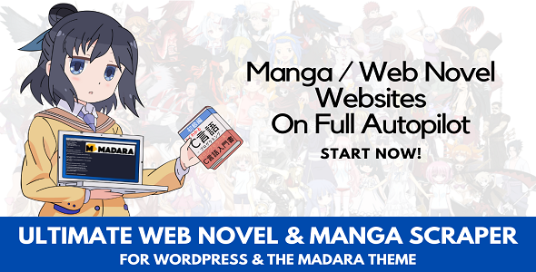 [Free Download] Ultimate Web Novel and Manga Scraper (Nulled) [Latest Version]