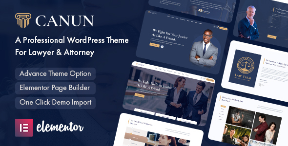 [Free Download] Canun – Lawyer & Attorney WordPress Theme (Nulled) [Latest Version]