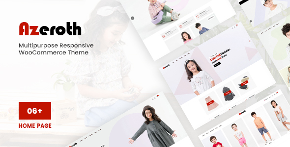 [Free Download] Azeroth – Multipurpose Responsive WooCommerce Theme (Nulled) [Latest Version]