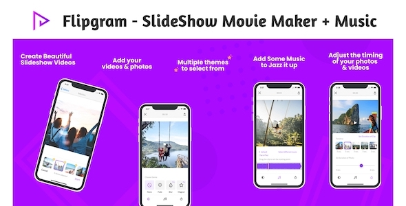 [Free Download] Flipgram – SlideShow Movie Maker + Music | Google AdMob | Subscription Plan | In App Purchase (Nulled) [Latest Version]