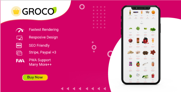 [Free Download] Groco – Vue Laravel Grocery System (Nulled) [Latest Version]