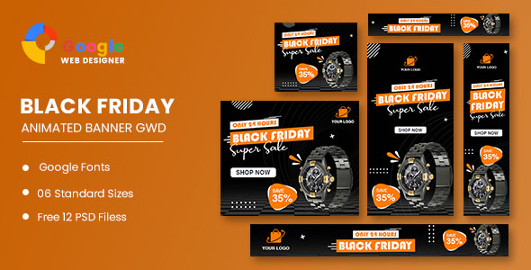 [Free Download] Product Sale Black Friday Banner Set Template (Nulled) [Latest Version]